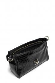 Depeche |  Snakeprint shoulder bag Meryam  | black  | Picture 4