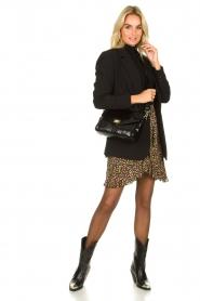 Depeche |  Snakeprint shoulder bag Meryam  | black  | Picture 2