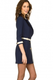 ELISABETTA FRANCHI |  Dress with belt Marina | blue  | Picture 5