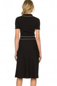 ELISABETTA FRANCHI |  Fitted dress Grazia | black  | Picture 6