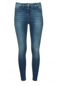 ELISABETTA FRANCHI |  Skinny jeans Paradiso | blue  | Picture 1
