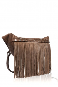 Depeche |  Leather fringe bag Kiki | brown  | Picture 3