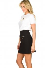 ELISABETTA FRANCHI |  A-line skirt Labbro | black  | Picture 4