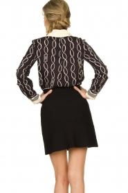ELISABETTA FRANCHI |  A-line skirt Labbro | black  | Picture 5