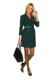 ELISABETTA FRANCHI |  Blazer dress Sonia | green  | Picture 3