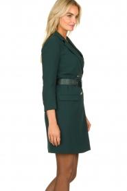 ELISABETTA FRANCHI    Blazer dress Sonia   green    Picture 4