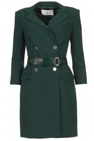 ELISABETTA FRANCHI    Blazer dress Sonia   green    Picture 1