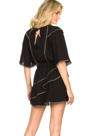 IRO |  Dress with metal details Zavora | black  | Picture 6