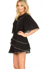 IRO |  Dress with metal details Zavora | black  | Picture 5