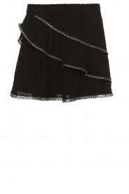 IRO |  Skirt with metal details Nicia | black  | Picture 1