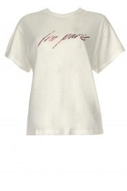 IRO |  Text printed T-shirt | white  | Picture 1