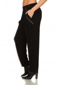 IRO |  Pants with metallic details Egini | black  | Picture 4