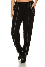 IRO |  Pants with metallic details Egini | black  | Picture 2