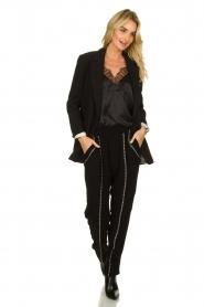 IRO |  Pants with metallic details Egini | black  | Picture 3