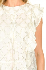 Lolly's Laundry |  Top with lurex details Harmony | white  | Picture 7