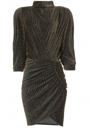 IRO |  Dress with shimmering lurex Absalon | black  | Picture 1