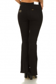 Lois Jeans |  L34 - Flared jeans Lea Soft Teal | black  | Picture 6