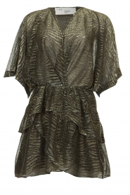 IRO |  Dress with lurex Wide | metallic  | Picture 1