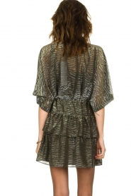 IRO |  Dress with lurex Wide | metallic  | Picture 6