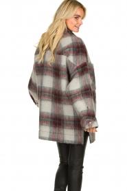 IRO |  Oversized coat Minsky | grey  | Picture 6