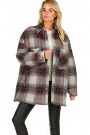 IRO |  Oversized coat Minsky | grey  | Picture 4