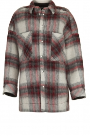 IRO |  Oversized coat Minsky | grey  | Picture 1