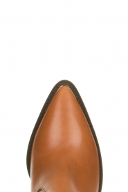 Toral | Leather boots with metal cap Elisio | camel  | Picture 5