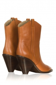 Toral | Leather boots with metal cap Elisio | camel  | Picture 4