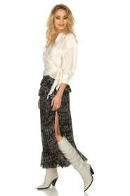 IRO    Wrap blouse Emain   naturel    Picture 3