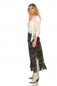 IRO    Wrap blouse Emain   naturel    Picture 4