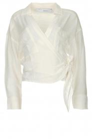 IRO |  Wrap blouse Emain | naturel  | Picture 1