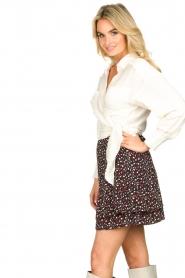 IRO |  Wrap blouse Emain | naturel  | Picture 5