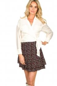 IRO |  Wrap blouse Emain | naturel  | Picture 4