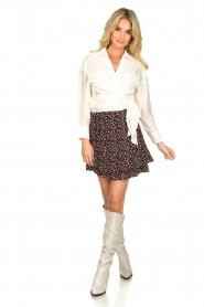 IRO |  Wrap blouse Emain | naturel  | Picture 3