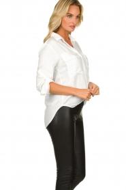Bella Dahl |  Classic blouse Miria | white  | Picture 4