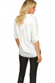 Bella Dahl |  Classic blouse Miria | white  | Picture 5