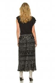 IRO |  Maxi skirt with ruffles Suma | black  | Picture 4