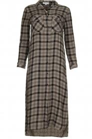 Bella Dahl |  Plaid dress Mercury | grey  | Picture 1