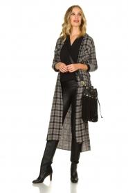 Bella Dahl |  Plaid dress Mercury | grey  | Picture 3