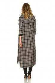 Bella Dahl |  Plaid dress Mercury | grey  | Picture 5