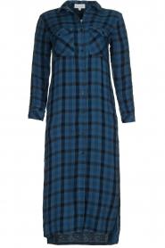 Bella Dahl |  Plaid dress Mercury | blue  | Picture 1