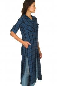Bella Dahl |  Plaid dress Mercury | blue  | Picture 6