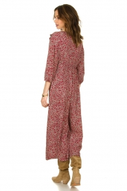 ba&sh |  Printed jumpsuit Cloy | rood  | Picture 5