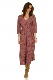 ba&sh |  Printed jumpsuit Cloy | rood  | Picture 3