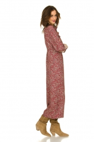 ba&sh |  Printed jumpsuit Cloy | rood  | Picture 4