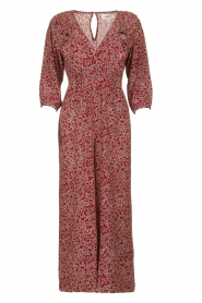 ba&sh |  Printed jumpsuit Cloy | rood  | Picture 1