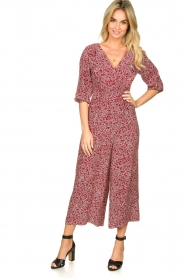 ba&sh |  Printed jumpsuit Cloy | rood  | Picture 2
