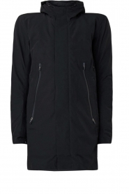 Krakatau |  Lined parka Urban chic | black  | Picture 1