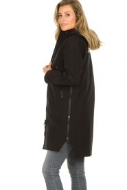 Krakatau |  Lined parka Urban chic | black  | Picture 5