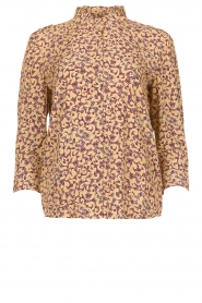 ba&sh |  Floral blouse Catty | beige  | Picture 1